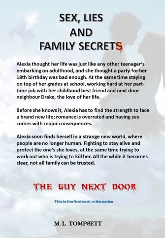 Back cover - Blurb