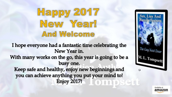 Happy 2017 New Year! I hope everyone had a fantastic time celebrating the New Year in. With many works on the go, this year is going to be a busy one. Keep safe and healthy, enjoy new beginnings and you can achieve anything you put your mind to! Enjoy 2017!