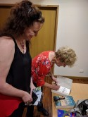 judy signing the book
